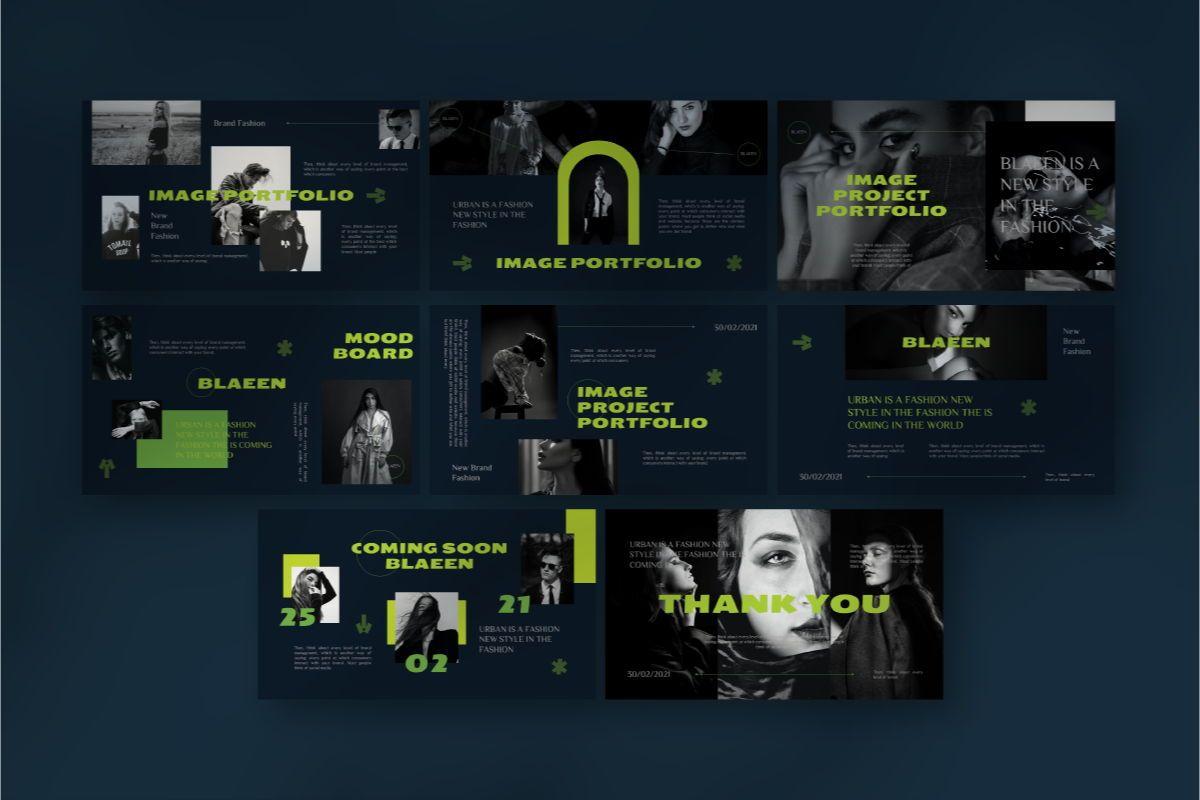 BLAEEN - Brand Google Slide Template, Slide 7, 08845, Business — PoweredTemplate.com