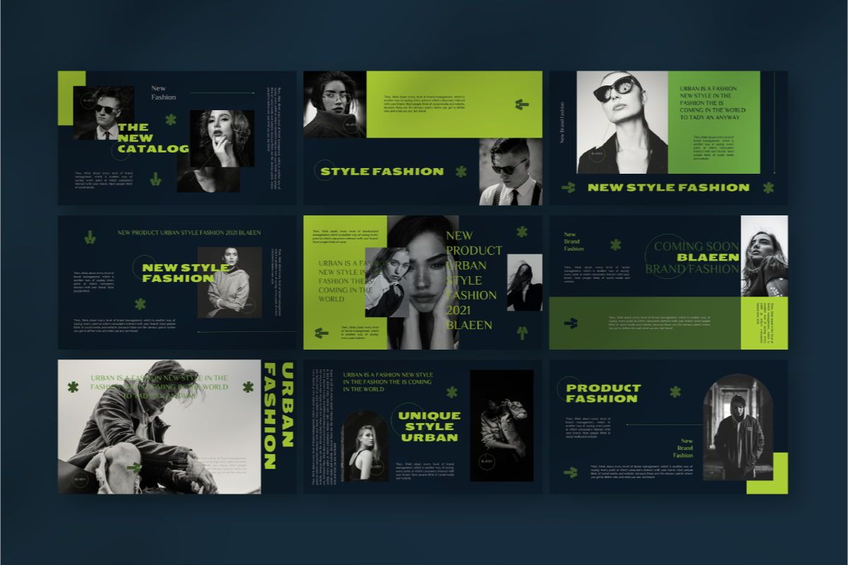 BLAEEN - Brand Keynote Template, Slide 5, 08846, Business — PoweredTemplate.com