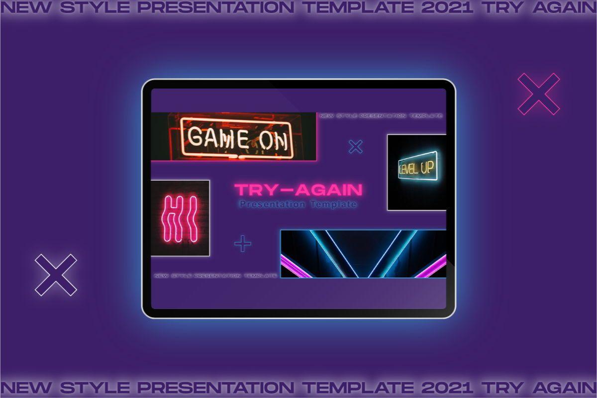 Try-Again Powerpoint Template, Slide 3, 08847, Business — PoweredTemplate.com