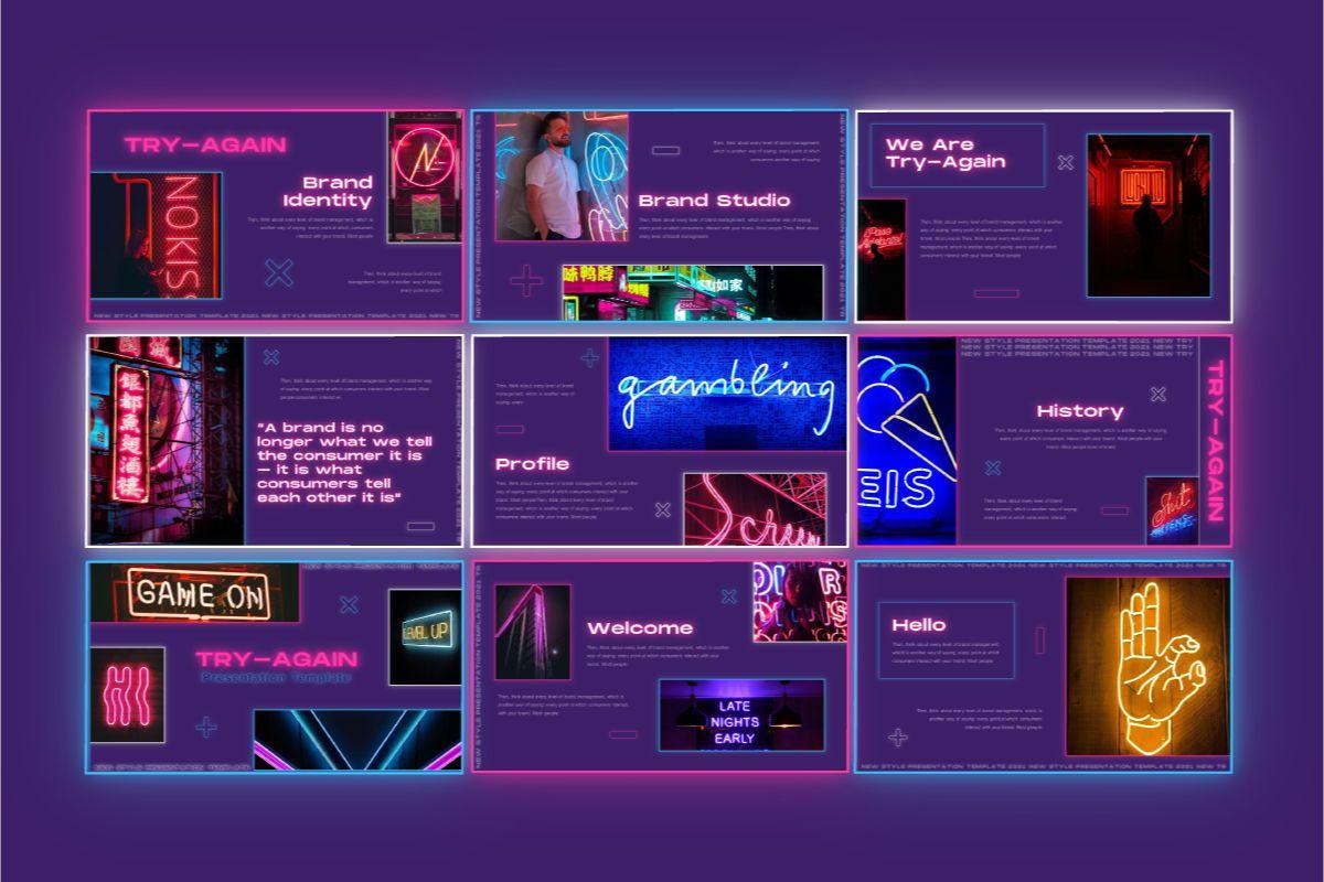Try-Again Powerpoint Template, Slide 4, 08847, Business — PoweredTemplate.com
