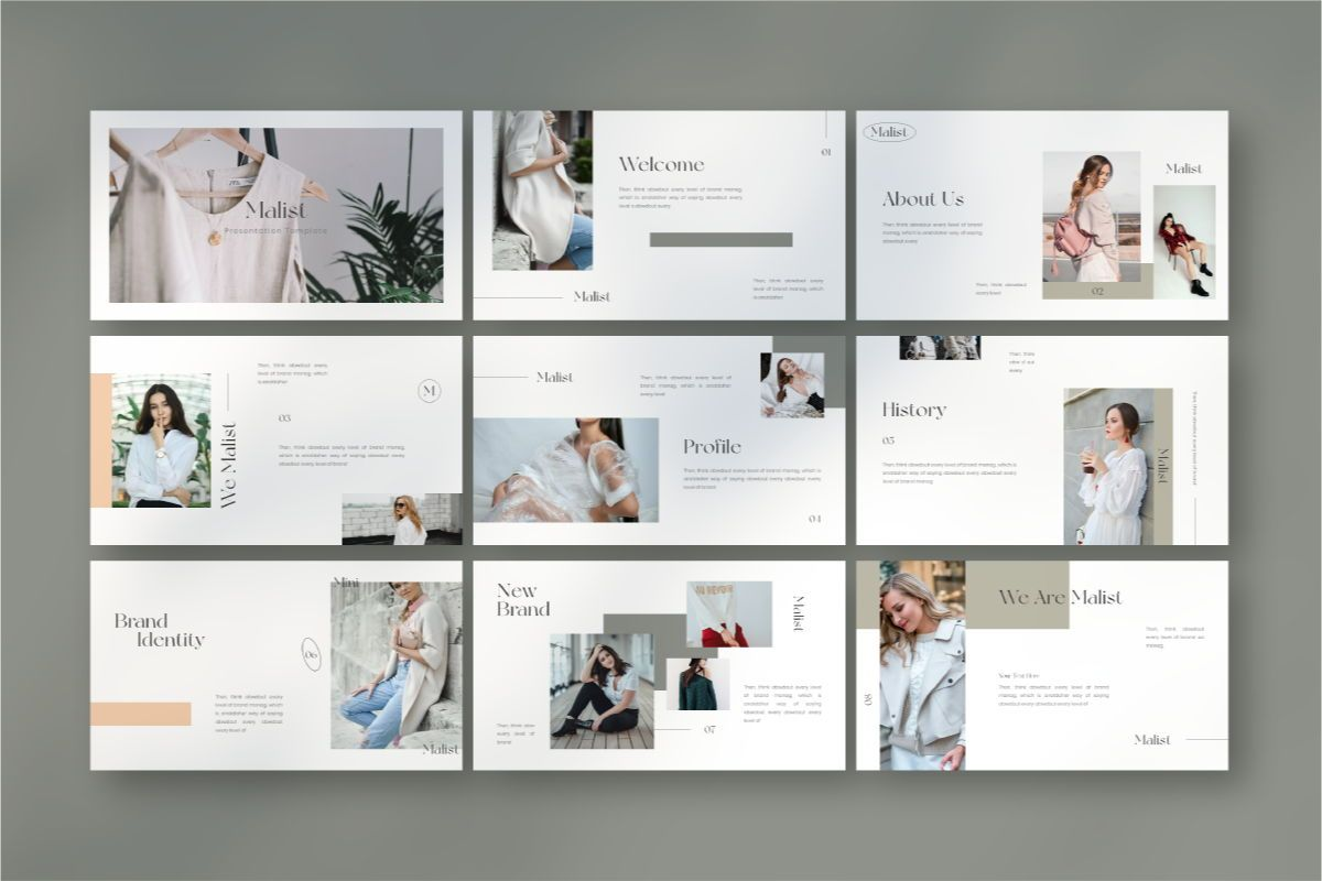MALIST Google Slide Template, Slide 4, 08850, Business — PoweredTemplate.com