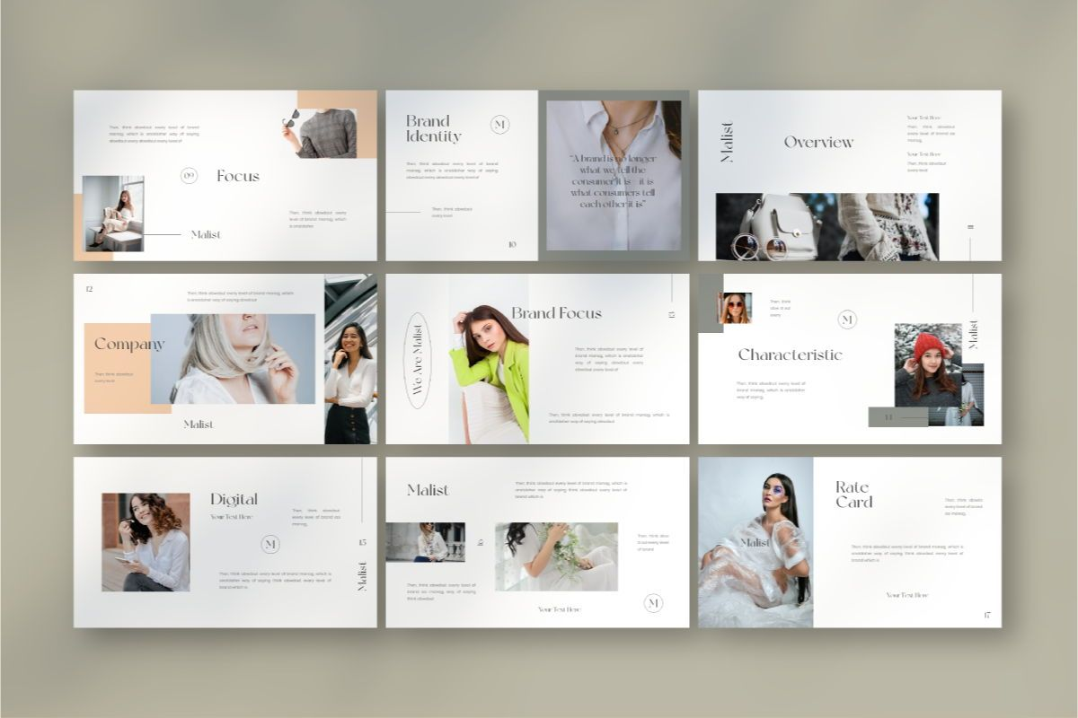 MALIST Google Slide Template, Slide 5, 08850, Business — PoweredTemplate.com