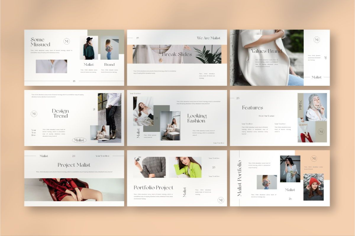 MALIST Google Slide Template, Slide 6, 08850, Business — PoweredTemplate.com