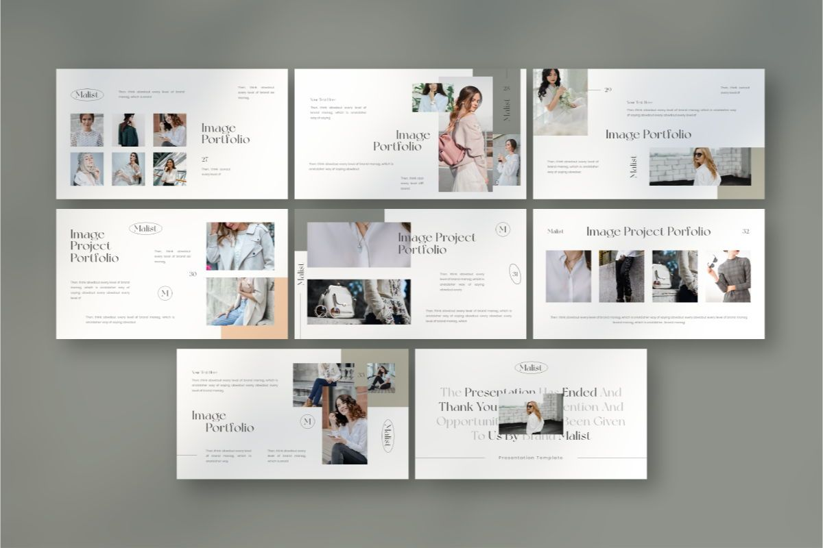 MALIST Google Slide Template, Slide 7, 08850, Business — PoweredTemplate.com