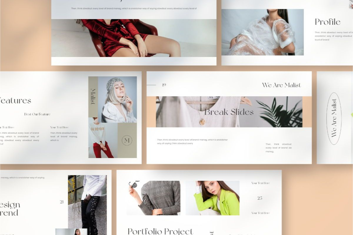 MALIST Google Slide Template, Slide 9, 08850, Business — PoweredTemplate.com