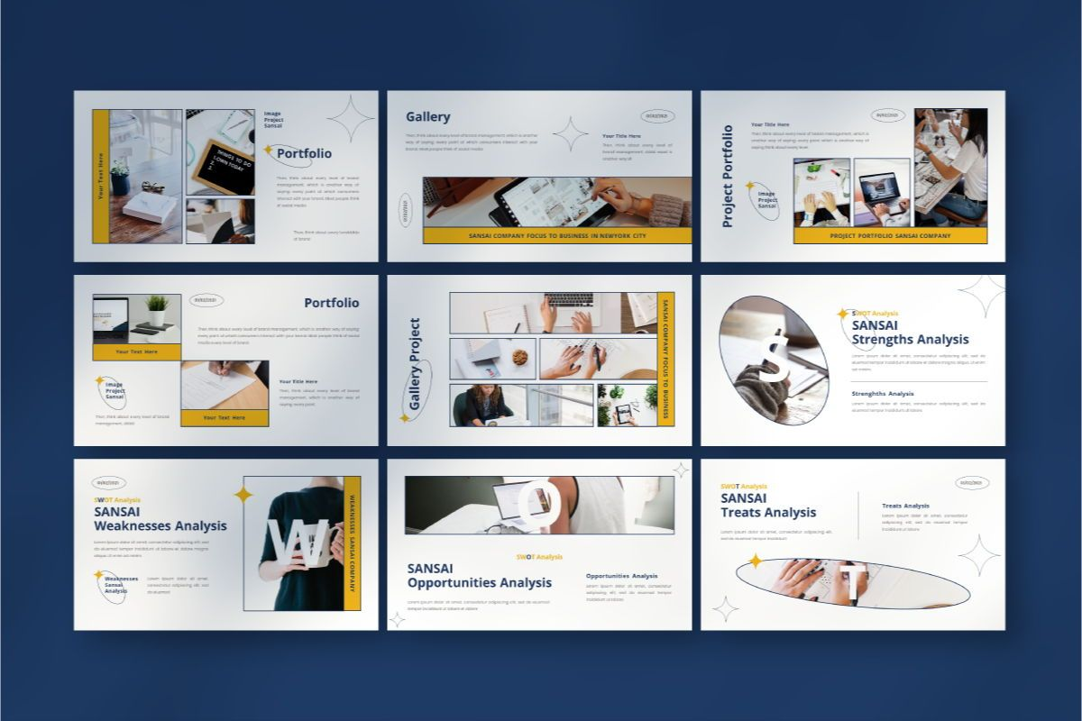 SANSAI Business Keynote Template, Slide 6, 08851, Business — PoweredTemplate.com