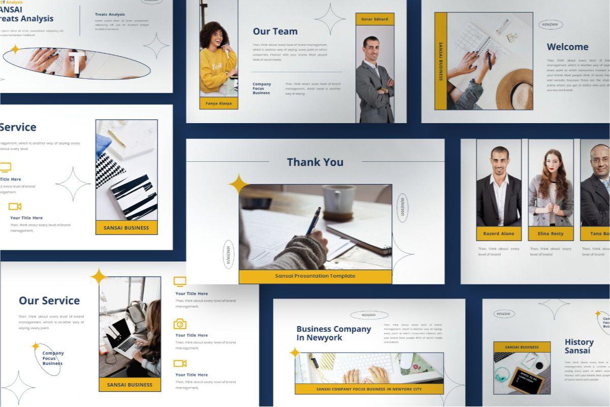 SANSAI Business Keynote Template, Slide 9, 08851, Business — PoweredTemplate.com