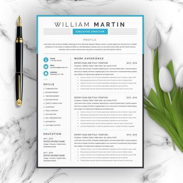 Careers/Industry: Executive Director Resume Design #09198