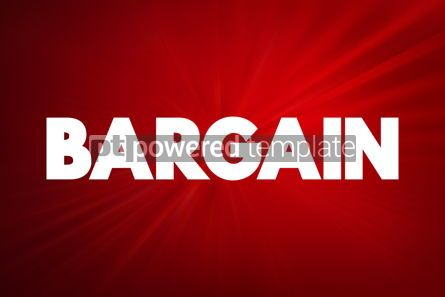 Business: Bargain text quote concept background #18768