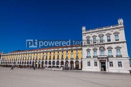 Architecture: Commerce Square in Lisbon Portugal #18855